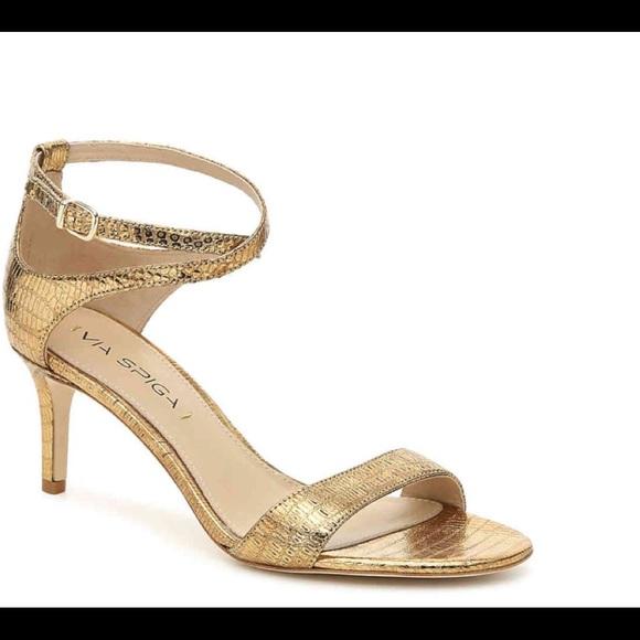 Via Spiga Shoes   Women Gold Lizard